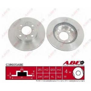 ABE C3R035ABE Тормозной диск Дача Соленза
