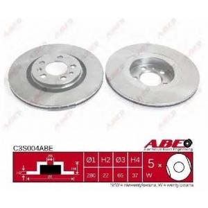 ABE C3S004ABE Тормозной диск Ауди А3