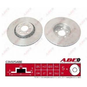 ABE C3V025ABE Гальмівний диск