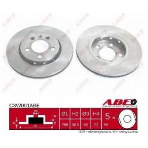 ABE C3W001ABE Тормозной диск Ауди А1