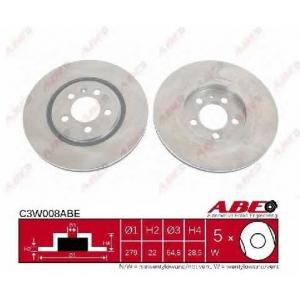 ABE C3W008ABE Гальмівний диск
