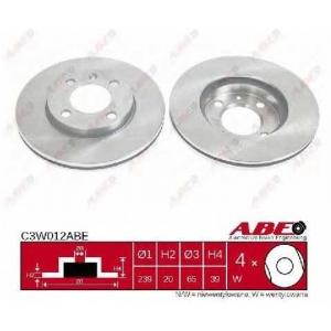 ABE C3W012ABE Тормозной диск Ауди 90