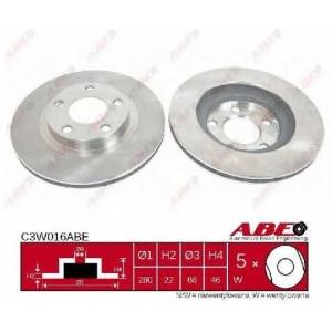 ABE C3W016ABE Тормозной диск Ауди А8