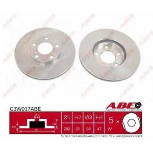ABE C3W017ABE Гальмівний диск