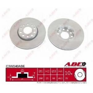 ABE C3W040ABE Гальмівний диск