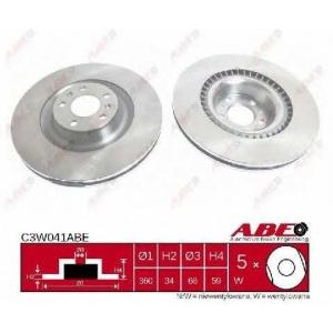 ABE C3W041ABE Тормозной диск Ауди А8