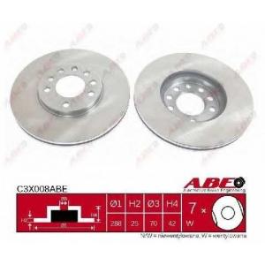 ABE C3X008ABE Тормозной диск Опель Калибра
