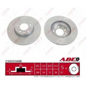 ABE C3X015ABE Гальмівний диск