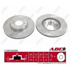 ABE C3X016ABE Гальмівний диск
