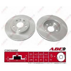 ABE C3X036ABE Тормозной диск Опель Инсигния