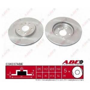 ABE C3X037ABE Тормозной диск Опель Инсигния