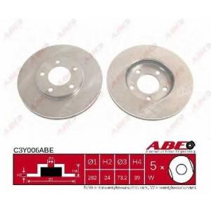 ABE C3Y006ABE Тормозной диск Крайслер Вояджер