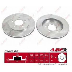 ABE C3Y007ABE Тормозной диск Додж Караван
