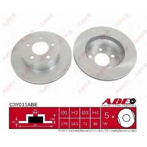 ABE C3Y011ABE Тормозной диск Джип Чероки