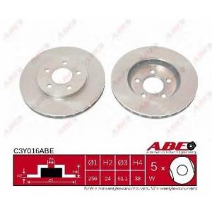 ABE C3Y016ABE Тормозной диск Додж Караван