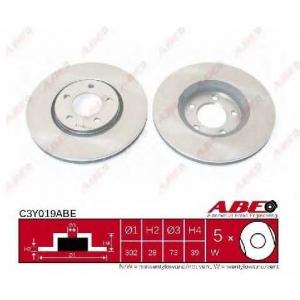 ABE C3Y019ABE Тормозной диск Крайслер