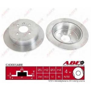 ABE C40001ABE Тормозной диск Шевроле Нубира