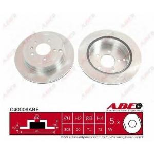 ABE C40009ABE Тормозной диск Шевроле Каптива