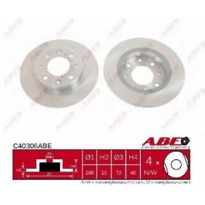 ABE C40306ABE Тормозной диск Киа Каренс