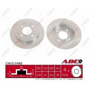 ABE C40312ABE Тормозной диск Киа Пиканто