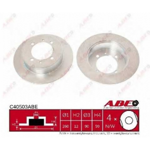 ABE C40503ABE Тормозной диск Хюндай Соната