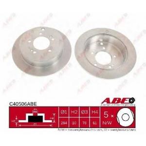 ABE C40506ABE Тормозной диск Хюндай Туксон