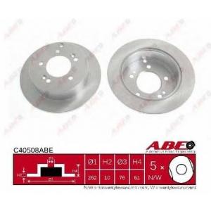 ABE C40508ABE Тормозной диск Хюндай Туксон