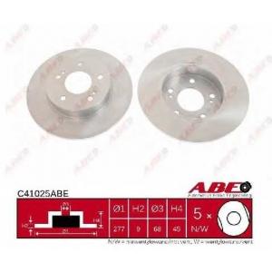 Тормозной диск c41025abe abe - NISSAN MAXIMA QX III (A32) седан 3.0