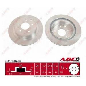 ABE C41038ABE Гальмівний диск