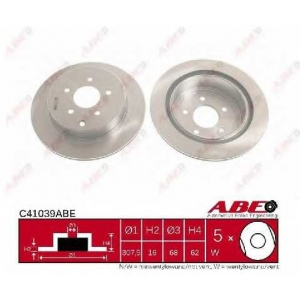 ABE C41039ABE Гальмівний диск