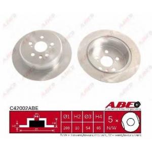 ABE C42002ABE Тормозной диск Лексус Ес