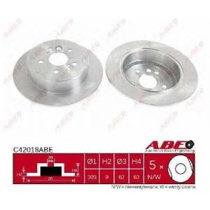 ABE C42018ABE Гальмівний диск