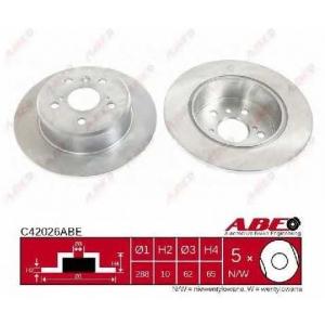 ABE C42026ABE Гальмівний диск