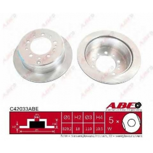 Тормозной диск c42033abe abe -