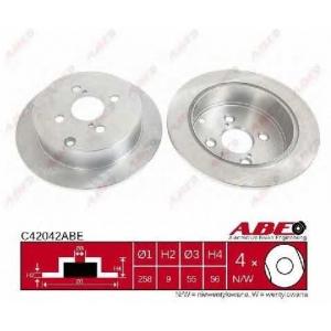 ABE C42042ABE Гальмівний диск