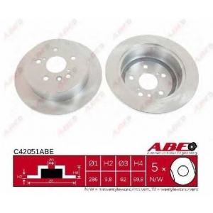 ABE C42051ABE Гальмівний диск