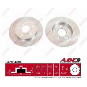ABE C42054ABE Гальмівний диск