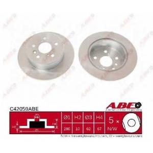 ABE C42059ABE Гальмівний диск