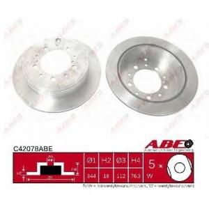 ABE C42078ABE Гальмівний диск
