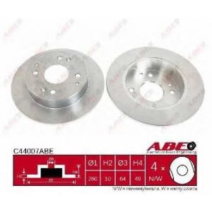 ABE C44007ABE Тормозной диск Хонда Акорд