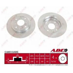 ABE C44010ABE Тормозной диск Хонда Прелюд