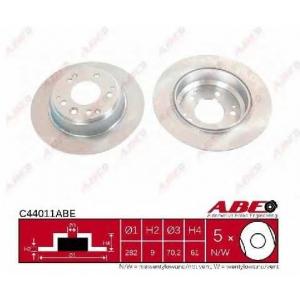 ABE C44011ABE Тормозной диск Хонда