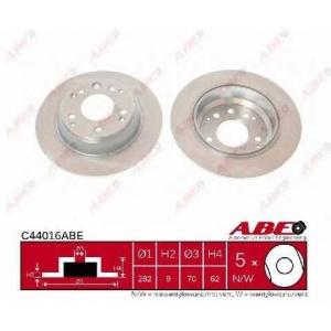 ABE C44016ABE Тормозной диск Хонда Шаттл