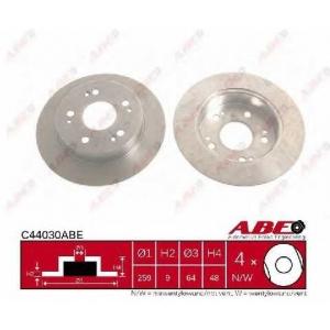 ABE C44030ABE Гальмівний диск