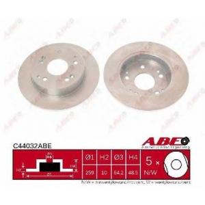 ABE C44032ABE Гальмівний диск