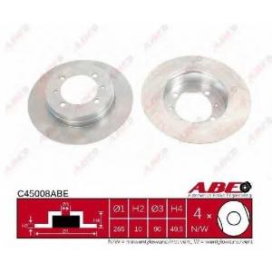 ABE C45008ABE Тормозной диск Митсубиси Кольт