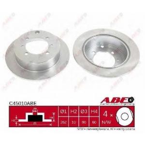 ABE C45010ABE Гальмівний диск
