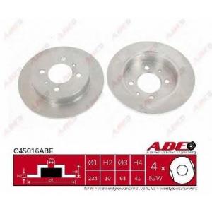 ABE C45016ABE Тормозной диск Митсубиси Карисма