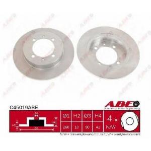 ABE C45019ABE Гальмівний диск