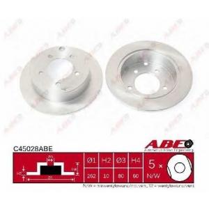 ABE C45028ABE Гальмівний диск